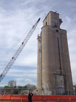 Grain Elevator Demolition (Carmel, Indiana)