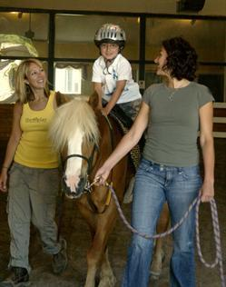 Hippotherapy at Children's TherApay Foundation