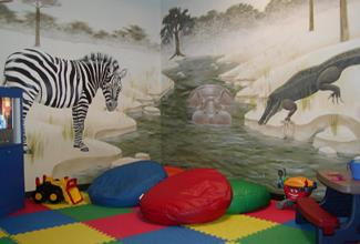 Kids Area in Castleton