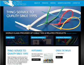 Welcome to the Cable Tie Express Website