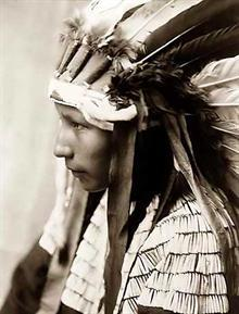 Cheyenne Girl Headdress