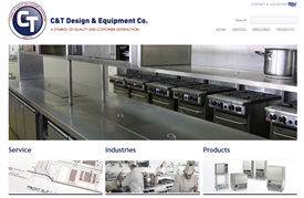 C&T Design and Equipment Company Launches New Website