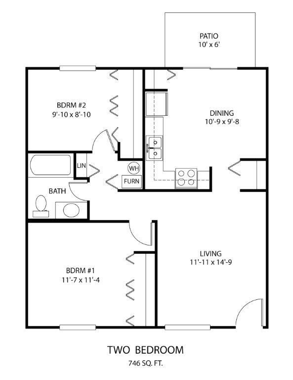 Lincoln Sqaure Normal Il Apartments Dominion Realty