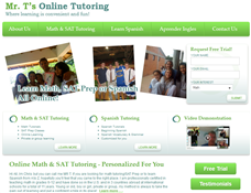 Mr. T's Online Math & SAT Tutoring