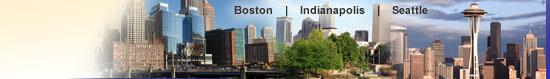 Boston - Indianapolis - Seattle